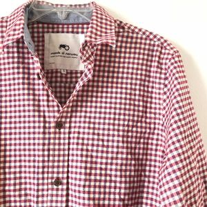 Moods of Norway Shirts - Moods of Norway Long Sleeve Button Down Shirt